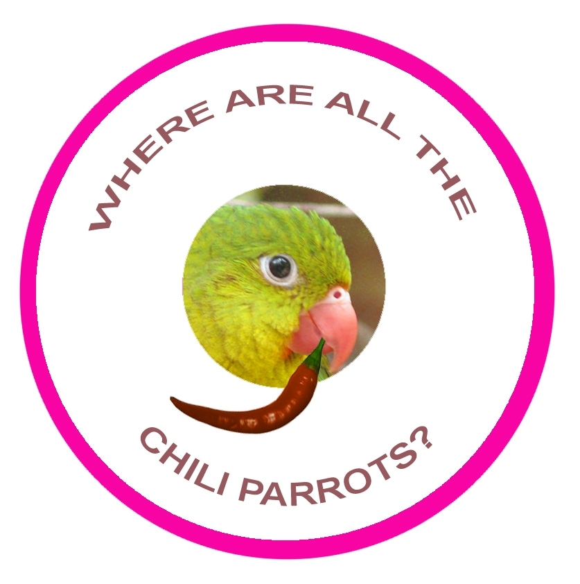 Chili Parrot Sticker